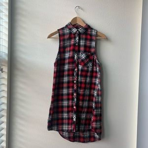 Flannel Dress/ Shirt
